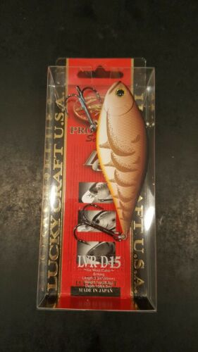 "Lucky Craft LVR D-15 Length 3 3//4/""  Weight 1 oz"