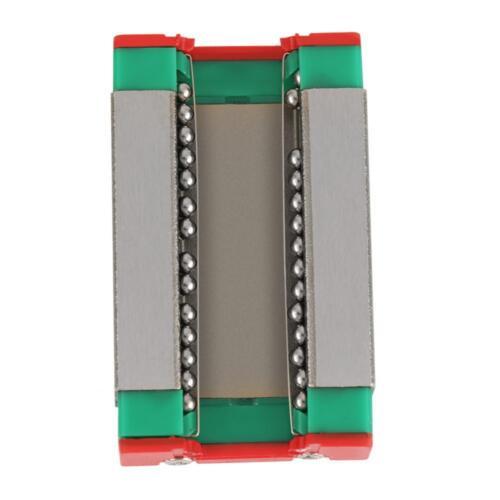 MGN12H Miniatur Linearführung Linearschienen Linear Guide Rail 600mm Slide Block