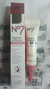 BOOTS-NO7-RESTORE-amp-RENEW-FACE-amp-NECK-MULTI-ACTION-EYE-CREAM-15ML-BNIB-RRP-18