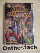 MANGA:   Rave Master Vol. 10 by Hiro Mashima (2004, Paperback) In new condition!