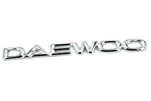 New Echt DAEWOO BADGE Matiz Lanos Kalos tti Aveo | eBay