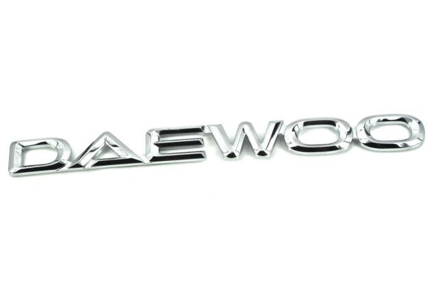 Genuine Daewoo Badge MATIZ LANOS KALOS TTI Aveo | eBay