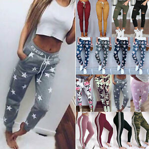 Womens-Casual-Jogger-Dance-Sports-Yoga-Pants-Bottoms-Trousers-Ladies-Sweatpants