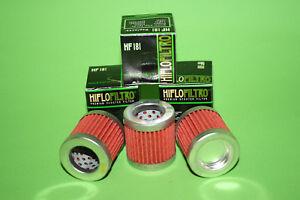 3x Hiflo Ölfilter HF181 HIFLO