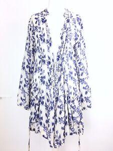 Masai-Clothing-Co-White-Blue-Watercolour-Floral-Lagenlook-Cardigan-Kimono-S-8-10