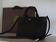 TORY BURCH Tasche ROBINSON BLACK Saffiano Leather BAG Taschen Schultertasche neu