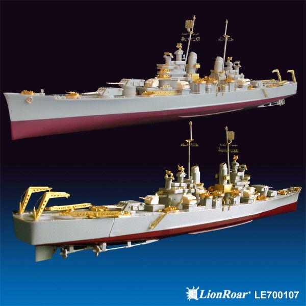 LionRoar PE details 1 700 WWII USN Heavy Cruiser CA-68 Baltimore for Trumpeter