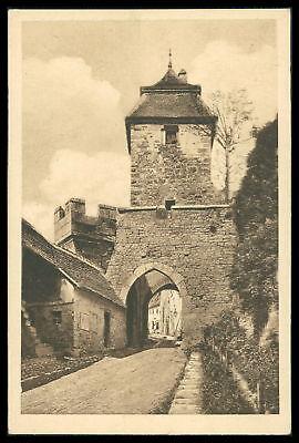 Bayern Aufrichtig Ak Rothenburg Ob Der Tauber Alte Ansichtskarte Foto-ak Postcard Cx47