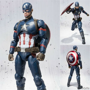 6-039-039-Captain-America-Civil-War-Figure-SHF-Action-Collection-Toy-Doll-US-STOCK