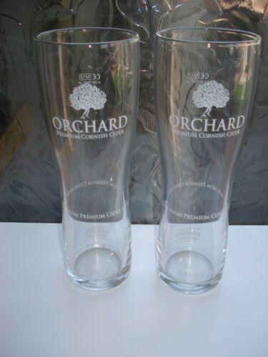 NEW SHARPS ORCHARDS CORNISH CIDER  PINT GLASS M12 X 2