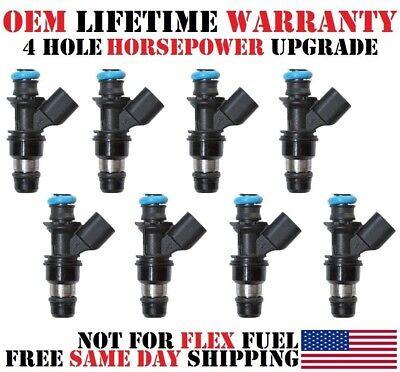 GENUINE  ACDelco 8X FLEX Fuel Injectors Silverado Suburban Tahoe 4.8 5.3 6.0L