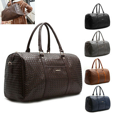 New Womens Large Shoulder Handbag Cross Body Bag Travel Carry-On Luggage Gym Bag