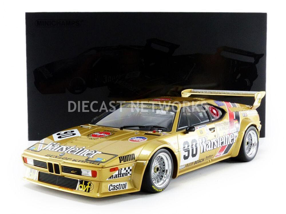 Minichamps BMW M1 Gr B le Mans 1983 Pallavicini  Winther  Von Bayern  90 1 12
