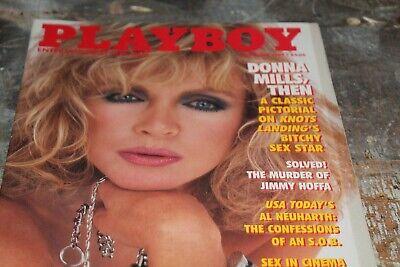 Playboy Magazine November 1989 Donna Mills Nude   eBay