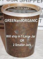 Buy3 Get1 Free 2 Pound Jar African Black Soap Organic Natural Raw Paste 32oz Lb