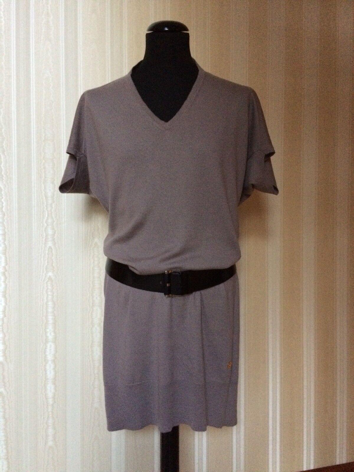 Original LGold PIANA Designer Edel Kleid Gr.40 ZEITLOS 100% Kaschmir TOP angenehm