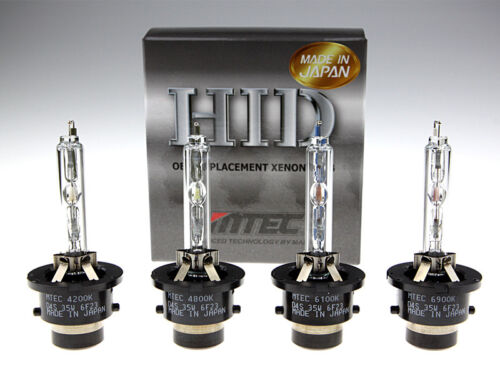 Genuine MTEC D4S Xenon HID Bulbs 100/% Made In Japan by Toshiba Harison
