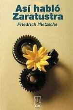 Así Habló Zarathustra by Friedrich Wilhelm Nietzsche (2000, Paperback)