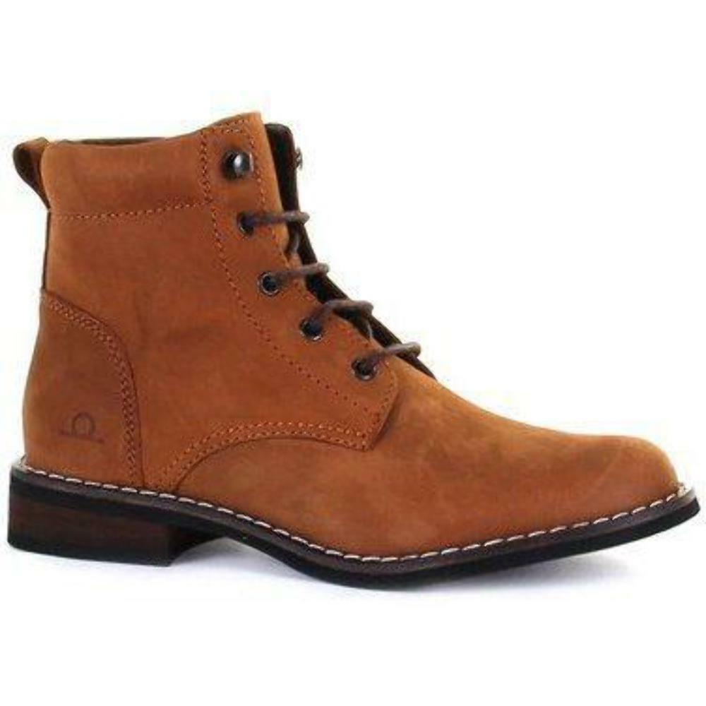 Chatham Annie Up Tan Nubuck Leder Lace Up Annie Ankle Stiefel 220aa4