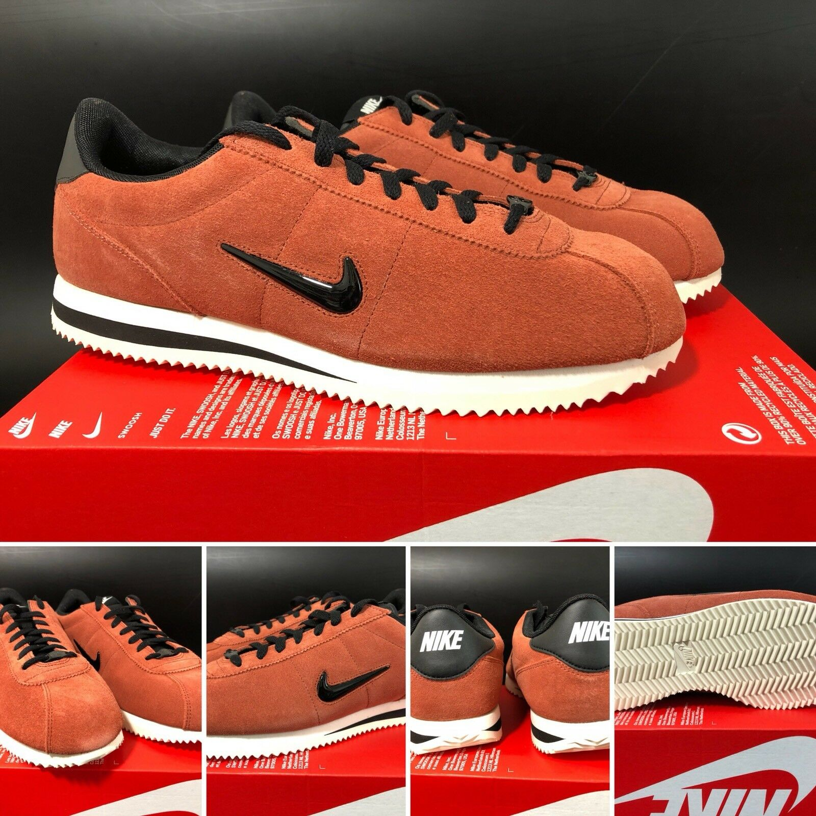 NIKE CORTEZ BASIC JEWEL SIZE UK10/US11/EUR45 833238-200