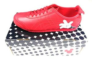 ASICS-DISNEY-MICKEY-MOUSE-X-Onitsuka-Tiger-MEXICO-66-Red-LEATHER-Sneakers-Shoes