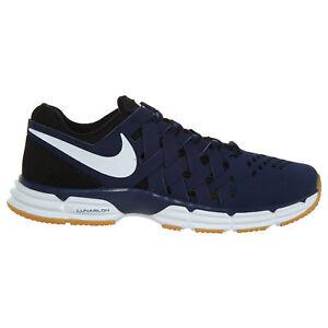 64fb97faa9a5 ... Nike Lunar Fingertrap TR Men s Cross Training Shoes Blue White  898066-414 Sizes