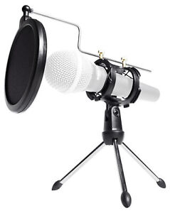Rockville-RTMS21-Desktop-Tripod-Microphone-Stand-With-Pop-Filter-Shock-Mount
