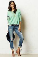 Anthropologie Shimmered Swing Sweater By Paul & Joe Sister M