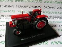 TR33 Tracteur 1/43 universal Hobbies n° 133 MASSEY Ferguson 175 1968