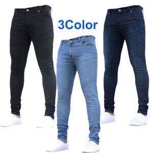 3eb1a89efc Image is loading Bootcut-Jean-Pants-Trousers-Men-Fashion-Pants-Slim-