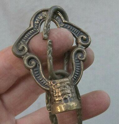 1 Spacer cast NECK brass bronze lamp chandelier 1//8 IP slip Part Vintage SPAIN