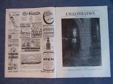 L'ILLUSTRATION 3438 DU 1/1/1909 EXECUTION CAPITALE ILE DU SALUT SEISME EN SICILE