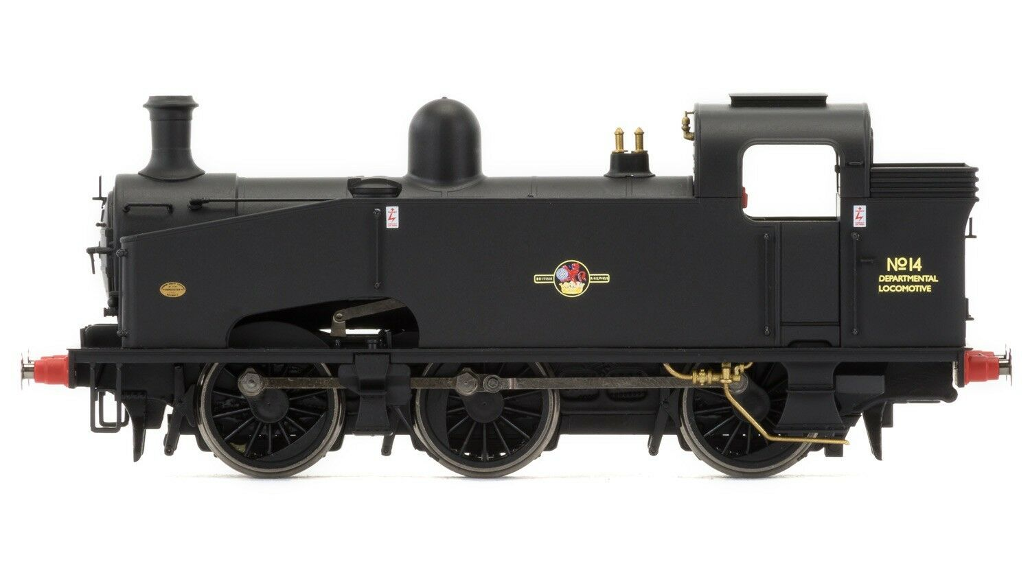 R3406 Hornby Br 0 6 0T 'Dipartimentale No.14' J50 Classe - Late DCC Ready