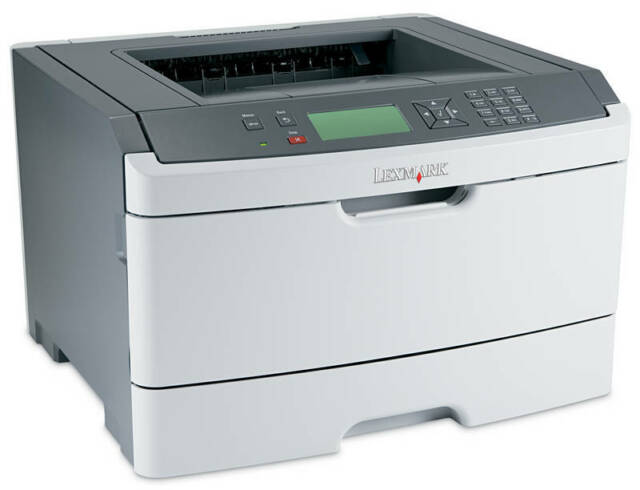 Lexmark E460DW Duplex/Wireless A4 Mono Laser Printer (34S0612) + Warranty