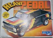 MPC 1:25 Model Car Kit Heavy Pedal Chevy Pickup Black #1-0448 VERY RARE!