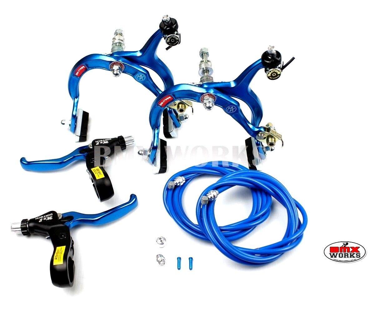 Genuine Dia-Compe MX1000 - MX2 Dark Blau Brake Set