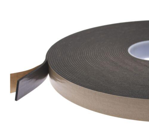uPVC Window Double Sided Glazing Foam Black Tape Scapa 5179 12mm x 25m Free P/&P