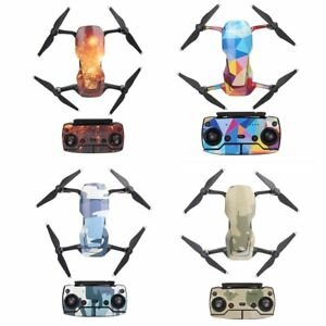 Full Set Waterproof Sticker Decal Skin Cover Protector For DJI Mavic Air Drone