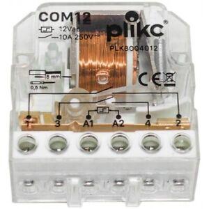 Relè elettromeccanico ad impulsi (Commutatore 12V) - Plikc COM12