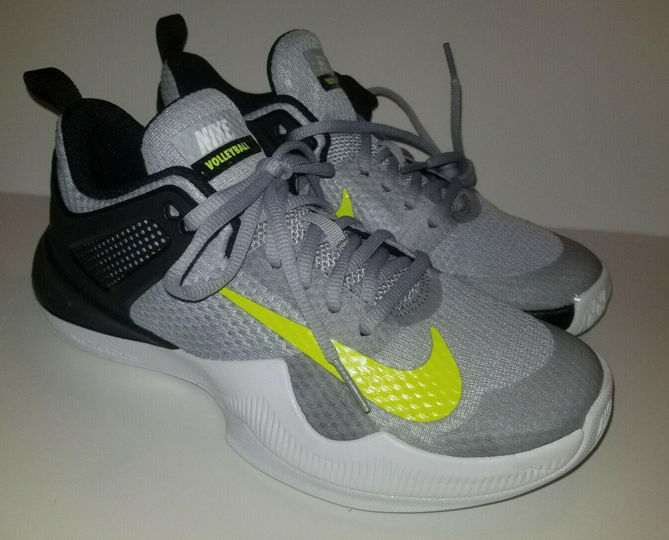 Nike Zoom Hyperace donna scarpe SZ  10.5 Volt grigio volley  di moda