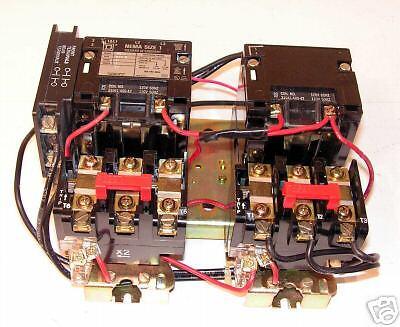 Square D Size 1 Multi 2 Speed Starter ;  8810 ; SCO 1