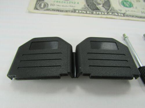 5 Amphenol 15 Position D-Sub Shell Housings w//Thumb Screws L17-DPPK-15JS Plastic