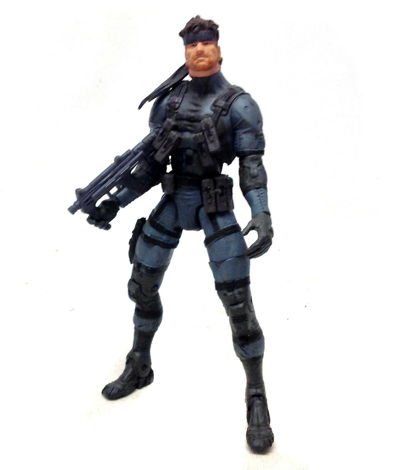 Mcfarlane Toys Metal Gear Solid 2 SOLID SNAKE 6  video game anime figure RARE