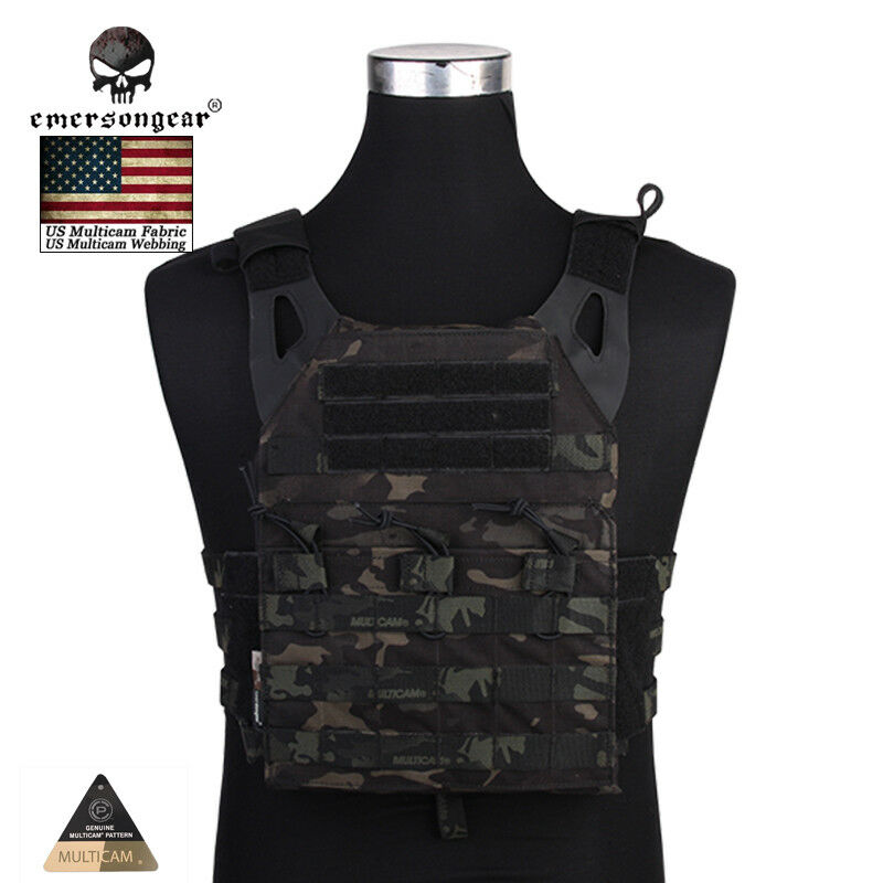 EMERSON Tactical Vest Molle Plate Carrier Paintball Vest   JPC Airsoft Army Camo  hot