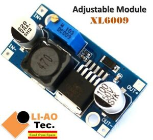 XL6009-DC-DC-Booster-Step-Up-Module-Power-Supply-Adjustable-Super-LM2577-Step-Up
