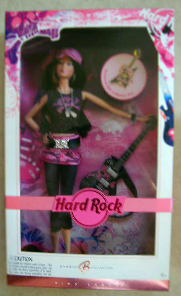 Hard Rock Cafe 2006 Muñeca Barbie