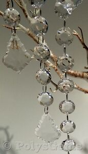 5-ACRYLIC-CRYSTAL-GARLANDS-WITH-TEAR-SHAPE-DROPLET-WEDDING-TABLE-DECORATIONS