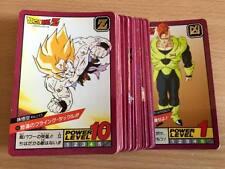 Carte Dragon Ball Z DBZ Super Battle Part 3 #Reg. Set BANDAI 1992 MADE IN JAPAN
