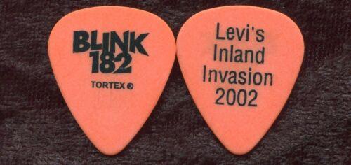 BLINK 182 2002 Clothes Tour Guitar Pick TOM DeLONGE custom concert stage Pick #1