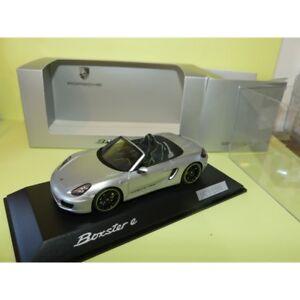 Porsche Boxster E Type 981 Gris Spark 1:43